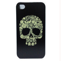 Personality Skull Hard Plastic Case for iPhone 4 4S 1 from looback