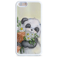 Panda Flower iPhone 6 Case, Samsung Galaxy Rubber Case