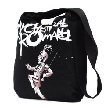 My Chemical Romance Graphic Tote Messenger Bag