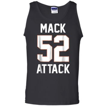 Mack Attack 52 Chicago Football  New Player funny Tee Tank Top
