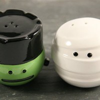 Frankie & Mummy Salt & Pepper Shakers