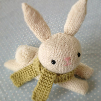 Amigurumi Pattern Knit Bunny Pattern Digital Download