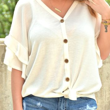 Simply Love Top - Off White