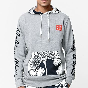Vandal Making Waves Hoodie - Mens Hoodie - Gray
