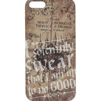 Harry Potter Solemnly Swear iPhone 5 Case