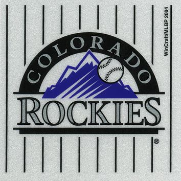 Colorado Rockies - Logo Reflective Decal