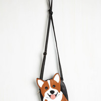 Darling Critter-cal Mass Bag in Corgi by ModCloth