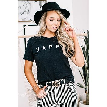 H A P P Y Graphic Tee