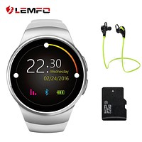 Smart Watch Bluetooth Heart Rate Monitor Intelligent smart Watch Support SIM Card for apple Samsung Phone