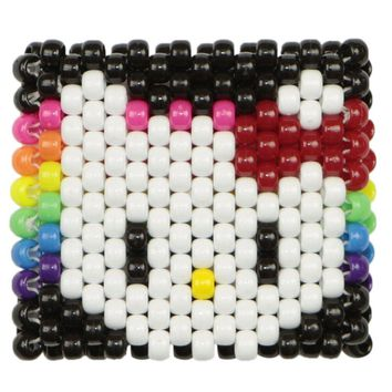 Rainbow Hello Kitty Kandi Cuff