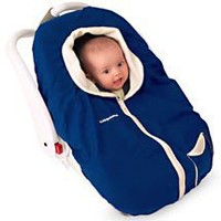 Kiddopotamus - CozyUp Reversible Carrier Cover, Navy