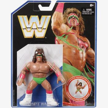 Ultimate Warrior WWE Retro Wrestling Figure NIB Mattel WWF new in package