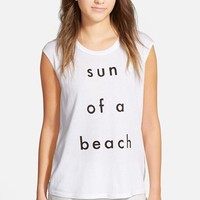 Women's Rebecca Minkoff 'Sun of a Beach' Muscle Tee