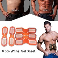 3Set Pad Abdominal Exerciser Muscle Training Body Shaper Fitness Gear Fitpad Gel Pad