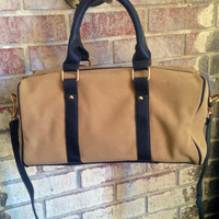 Short Stop Leather Handbag