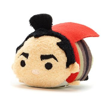 Disney Usa 25th Anniversary Mulan Li Shang Mini Tsum Plush New with Tags