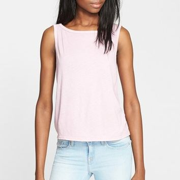 Women's Enza Costa Scoop Back Tissue Jersey Tank