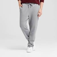 Men's French Terry Sweatpants - Goodfellow & Co™ Heather Gray XL