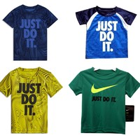 Nike Just Do It Dri-Fit Toddler 2T Athletic T-Shirt