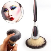 Big Professional Foundation Makeup Brushes Silver Handle Synthetic Brush Blush Face Powder Cosmetic Makeup Brush Tools #82297-in Makeup Brushes & Tools from Health & Beauty on Aliexpress.com | Alibaba Group