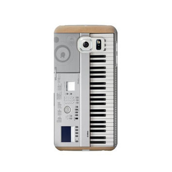 P0891 Keyboard Digital Piano Phone Case For Samsung Galaxy S6 edge