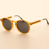 Yellow Celebrity Retro Sunglasses