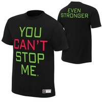 "John Cena ""You Can't Stop Me"" Authentic T-Shirt"