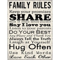 Art.com - Family Rules