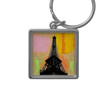 Eiffel Tower Keychain