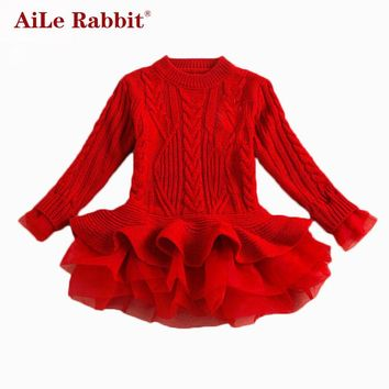Rabbit Thick Dress Christmas Wedding Party Dresses
