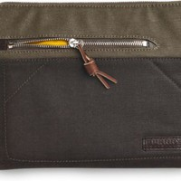 Sperry Top-Sider Waxed Canvas iPad Case Brown/DarkKhakiWaxedCanvas, Size One Size  Men's