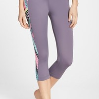 Women's adidas 'Let Go Deco' Swim Capris