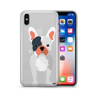 French Bulldog - Clear TPU Case Cover