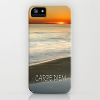 CARPE DIEM at summer iPhone Case by Guido Montañés