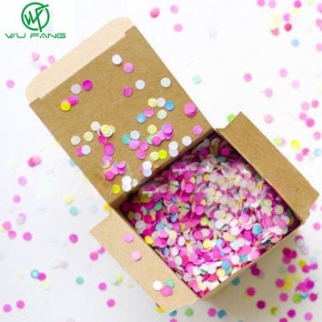 2000pcs 1MM Brithday Party wedding decoration multicolor confetti balloon Helium Thickening Pear Latex Transparent Clear Balloon