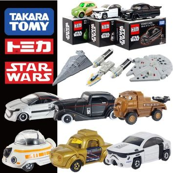 Star Wars Force Episode 1 2 3 4 5 Takara Tomy Tomica Car Anime  White Soldier Black Soldier Diecast  Toys Metal Model Car AT_72_6