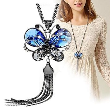 Women's Butterfly Pendant