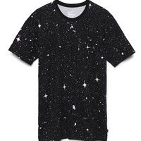 Nike SB Allover Space T-Shirt - Mens Tee - Black