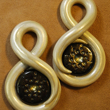 Calypso - Earrings for Stretched Lobes - Gauges