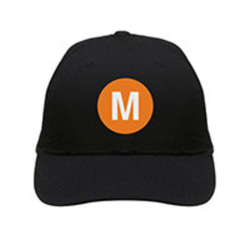 "M Train Hat ""NYC Subway Line"""