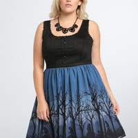 Disney Alice in Wonderland Collection Corset Swing Dress