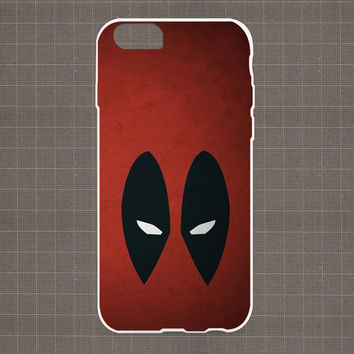 Deadpool Wade Wilson Minimalistic iPhone 4/4S, 5/5S, 5C Series Hard Plastic Case