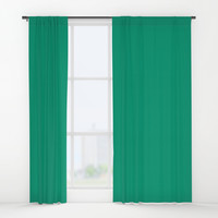 Green with Envy Window Curtains by spaceandlines