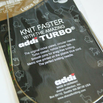 Addi Turbo 24 (60 cm) Circular Knitting Needles