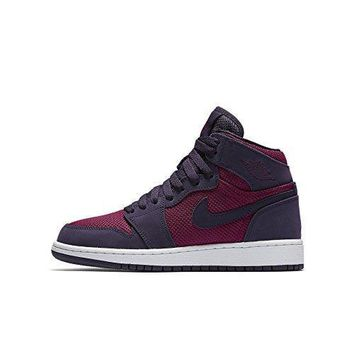 Grade School Air Jordan 1 Retro High (4) jordans 4