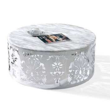 Modern Marble Top Coffee Table