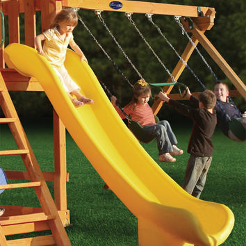 Gorilla Playsets Super Scoop Slide for 6ft Deck Heights
