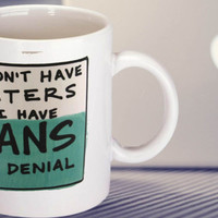 SALE Funny Mug Haters and Fans mug coffee,tea,milk,all drink on 3.75inch (9.5cm) little big than 3inch(8.2cm).