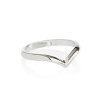 Silver Wishbone Ring *Regular or Midi