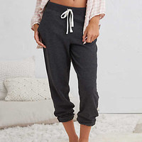 Aerie Classic Jogger, Charcoal Heather